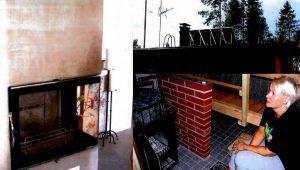 Aurinkokeräimet, vesikiertotakka ja -kiuas lämmittävät