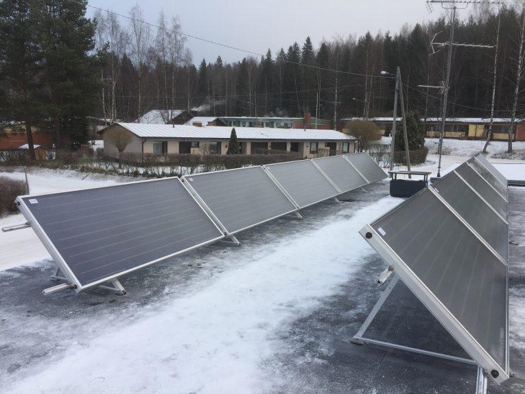 Aurinkokeräimet katolla 2