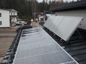 Aurinkokeräimet ja aurinkopaneelit