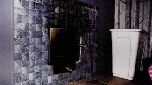 Vesikiertokiuas lämmitetään pukuhuoneen puolelta