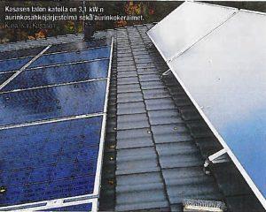 Aurinkokeräimet ja aurinkosähkö