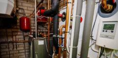 Tekninen tila hybridilämmitystä hyödyntävässä talossa